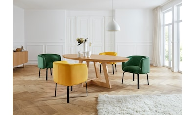 andas Esstisch »Tonje«, Design by Morten Georgsen, Tischbeine in Kufenform kaufen