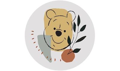 Komar Fototapete »Winnie Pooh Smile«, bedruckt-Comic-Retro-mehrfarbig, BxH: 128x128... kaufen