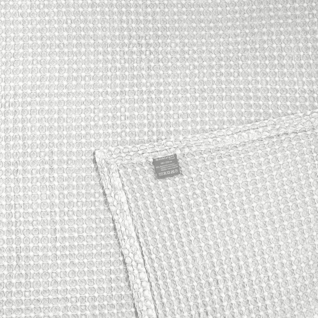 Schlafgut Tagesdecke »Piqué«, mit Waffeloptik