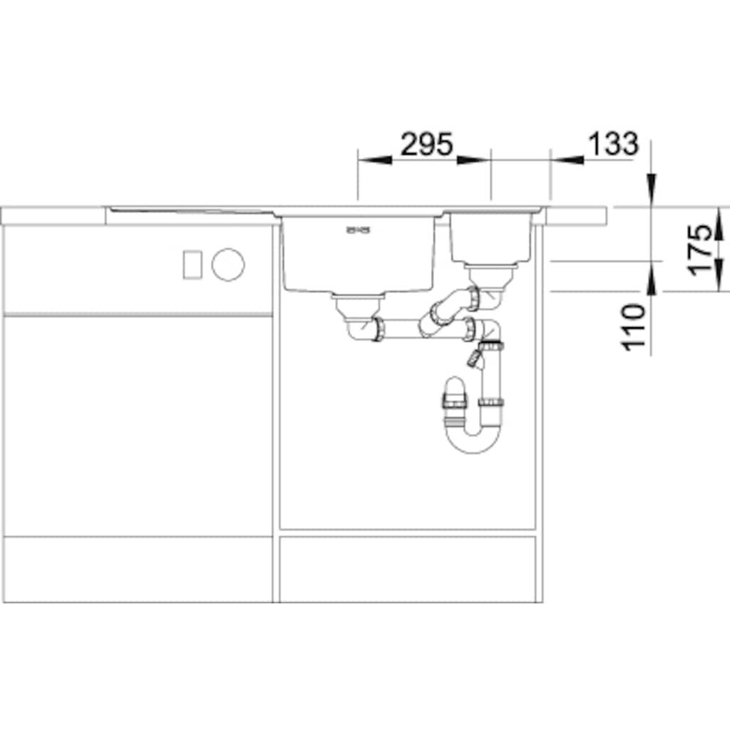 Blanco Küchenspüle »AXIS III 6 S-IF«