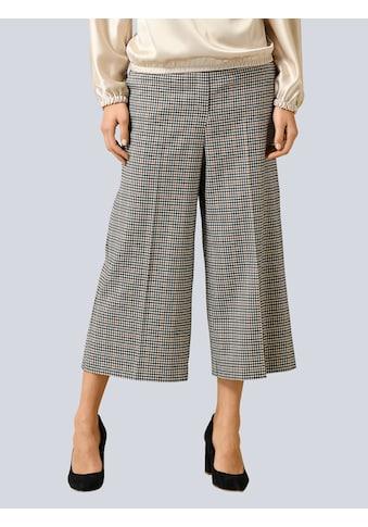 Alba Moda Stoffhose, im Karo-Dessin allover kaufen
