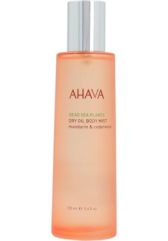 AHAVA Körperöl »Deadsea Plants Dry Oil Body Mist Mandarin Cedarwood« kaufen