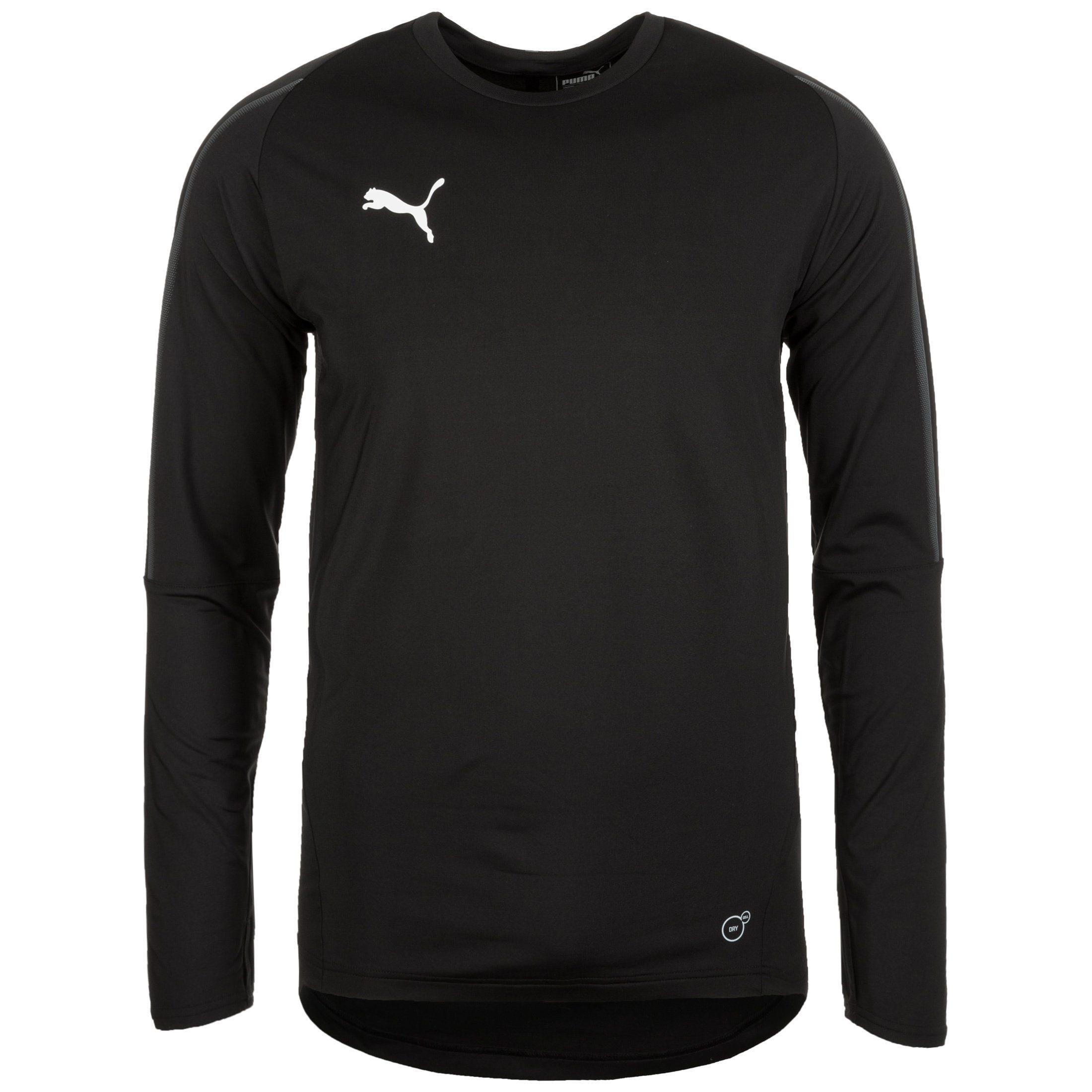 PUMA Longsleeve »Final« | Bekleidung > Shirts > Langarm Shirts | Schwarz | PUMA