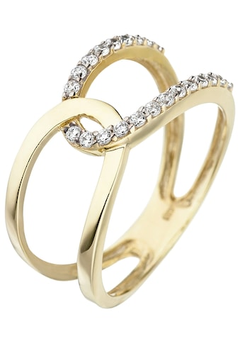 JOBO Goldring, 375 Gold mit Zirkonia kaufen