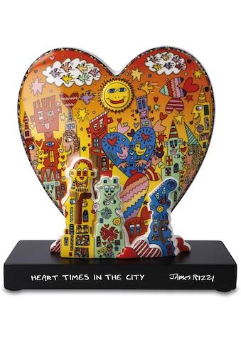 "Goebel Dekofigur »Figur James Rizzi - ""Heart times in the City""« kaufen"