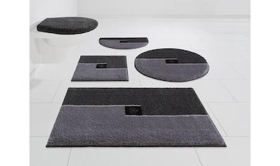 GRUND exklusiv Badematte »Crystal Touch«, Höhe 17 mm, rutschhemmend beschichtet, mit... kaufen