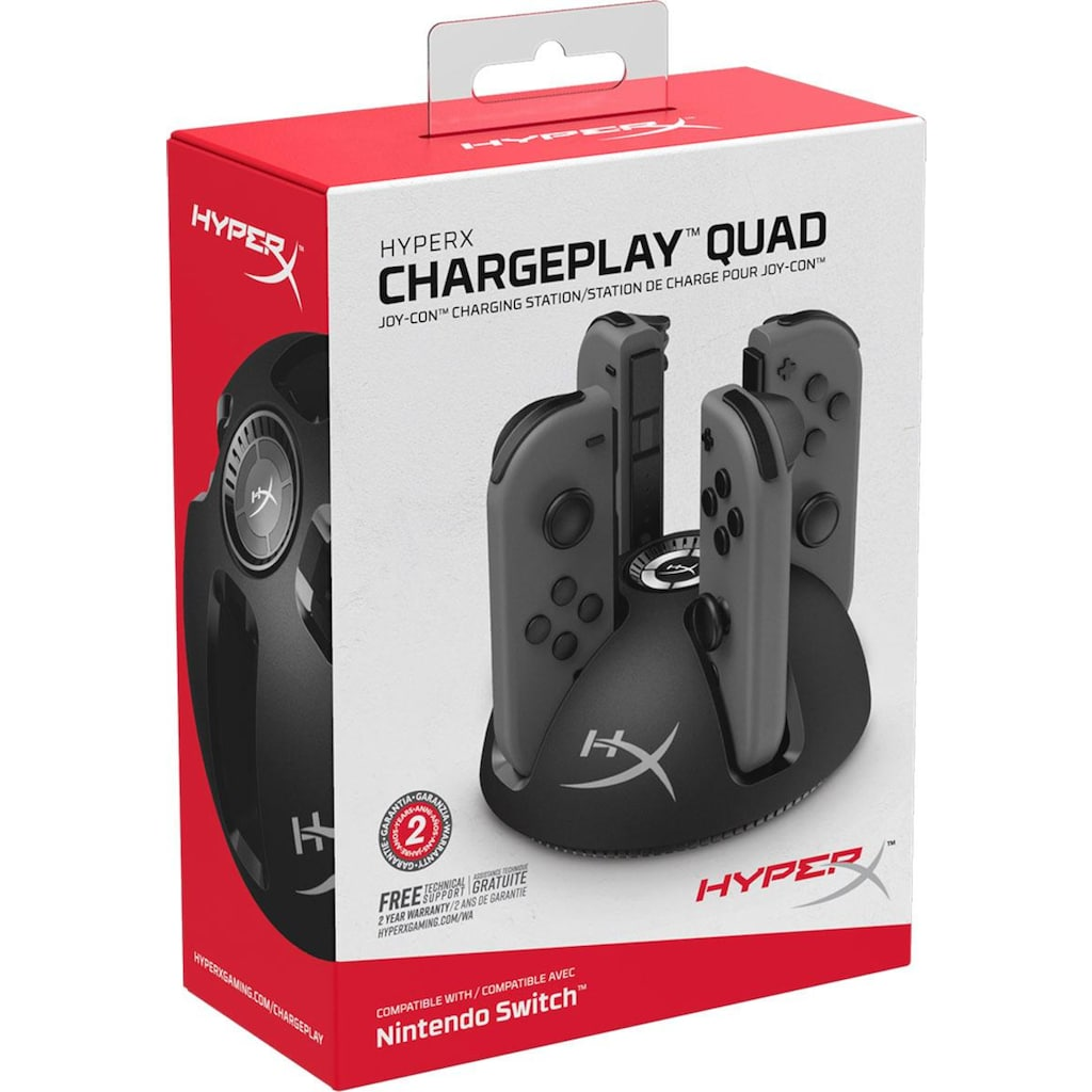 HyperX Controller-Ladestation »HyperX ChargePlay Quad for NS«