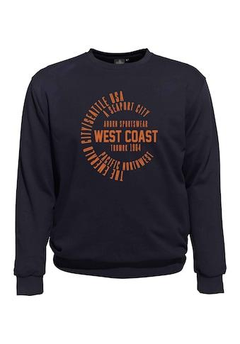 AHORN SPORTSWEAR Sweat mit Frontdruck 3867093 »Shirt« kaufen