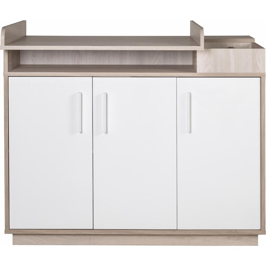 roba® Babyzimmer-Komplettset »Olaf«, (Set, 3 St.), mit Kinderbett, Schrank und Wickelkommode