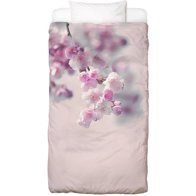 Bettwäsche »Pastel Rose Cherry II«, Juniqe