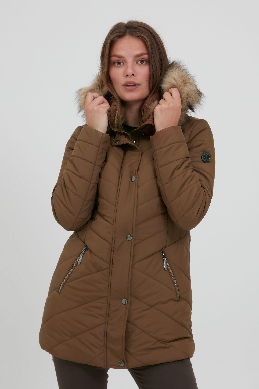 fransa -  Winterjacke FRBAVEST 2 Outerwear 20609449, Modische Jacke mit Fake-Fur Kragen