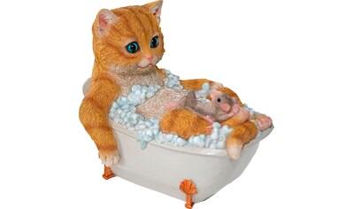 Home affaire Dekofigur »Katze mit Maus in Badewanne« kaufen