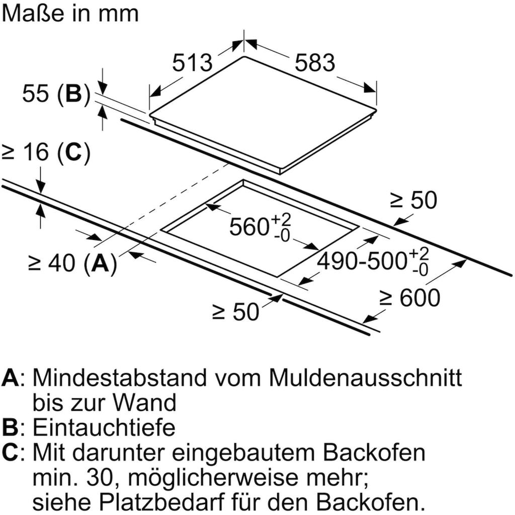 NEFF Induktions-Kochfeld »T56BD60N0«, T56BD60N0