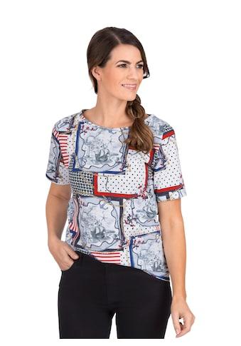 Trigema T - Shirt mit modischem Druck kaufen