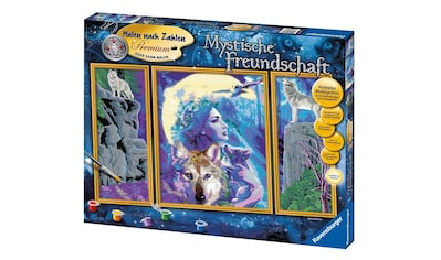Ravensburger Malen nach Zahlen »Mystische Freundschaft«, Made in Europe, FSC® -... kaufen