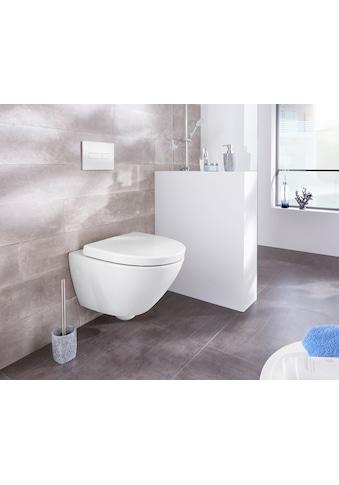 WELLTIME Wand - WC »Spring«, Toilette spülrandlos, inkl. WC - Sitz mit Softclose kaufen