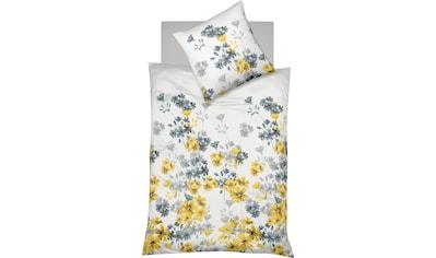 fleuresse Bettwäsche »Milano 4234«, mit Blumen kaufen