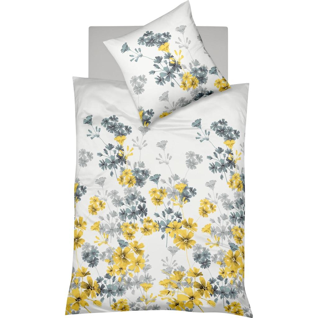 fleuresse Bettwäsche »Milano 4234«, mit Blumen
