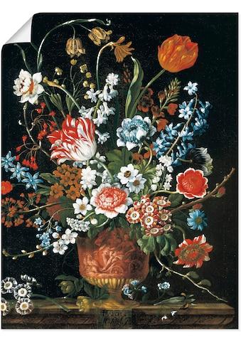 Artland Wandbild »Zwölf Monate. Floraler Kalender - März«, Arrangements, (1 St.), in... kaufen