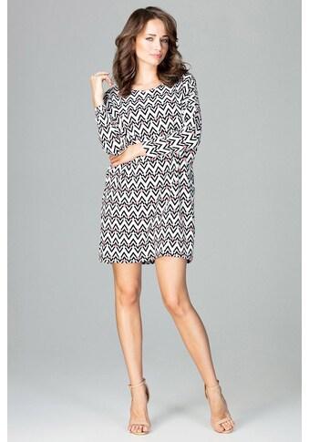 LENITIF Kleid mit extravaganter Musterung kaufen