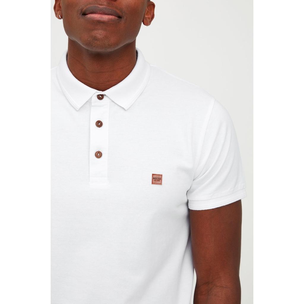 Indicode Poloshirt »Fletcher«, Poloshirt im klassischen Schnitt