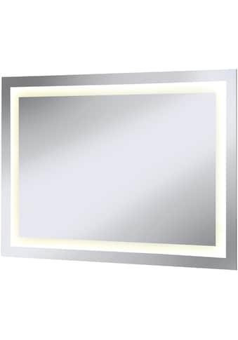 WELLTIME Badspiegel »Miami«, LED - Spiegel, 100 x 70 cm, mit Schalter kaufen