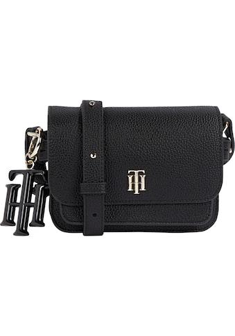 TOMMY HILFIGER Mini Bag »Mini Crossover«, mit goldfarbenen Details kaufen