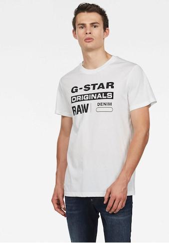 G-Star RAW Rundhalsshirt »Swando« kaufen