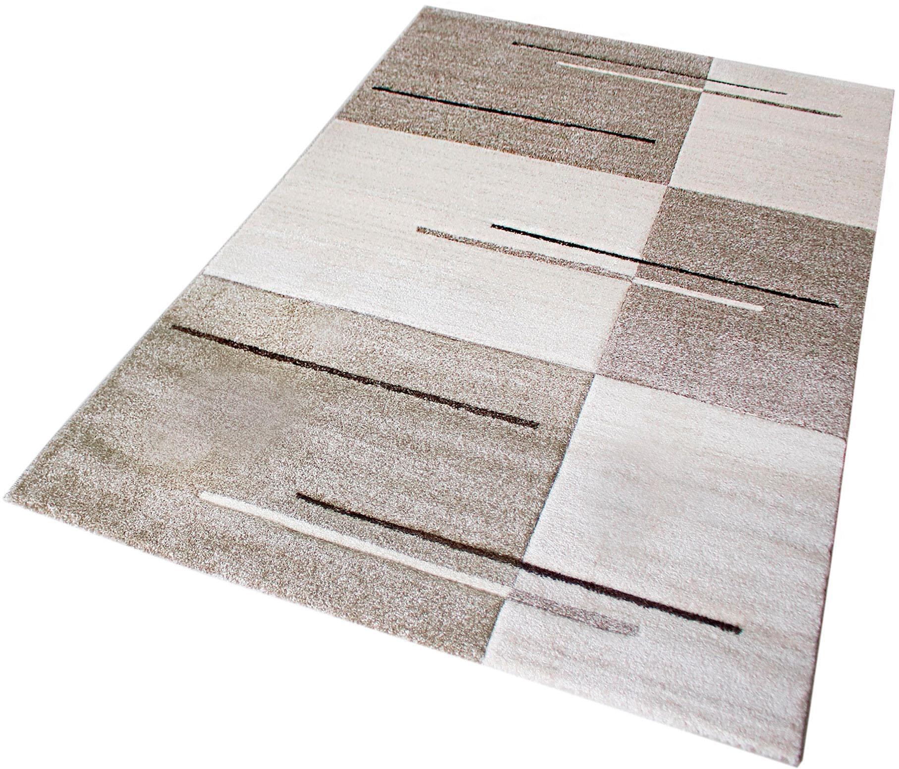 Teppich Trend 7423 Sehrazat rechteckig Höhe 13 mm maschinell gewebt