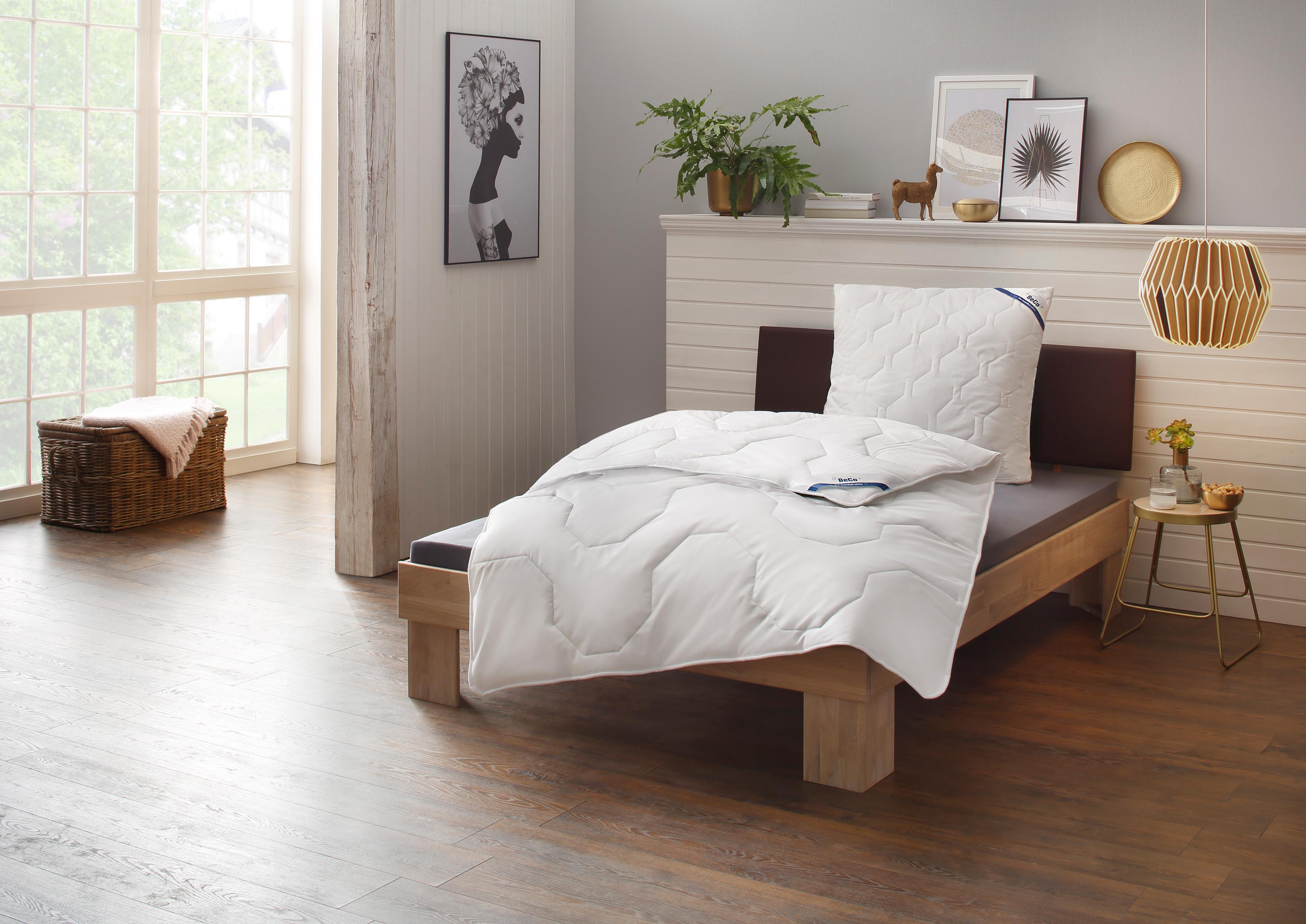 Einziehdecke + Kunstfaserkissen, »Tencel Soft«, BeCo, Warm, Perfekte Klimatisierung dank Tencel®