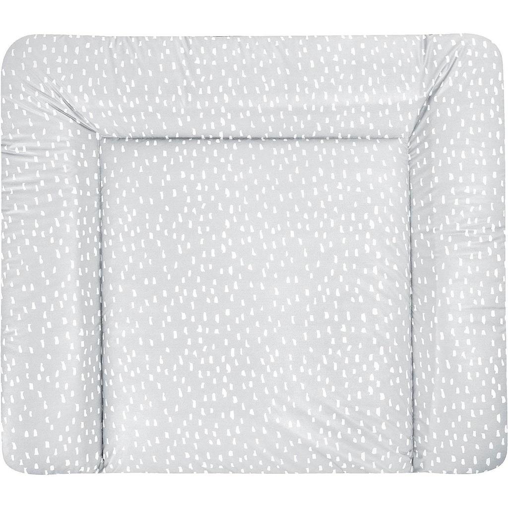 Julius Zöllner Wickelauflage »Softy - Tiny Squares Grey«, (1 tlg.), Made in Germany