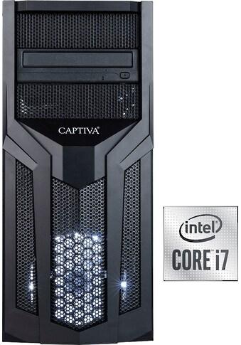 CAPTIVA »G9IG 20V3« Gaming - PC (Intel®, Core i7, GTX 1660 SUPER, Luftkühlung) kaufen