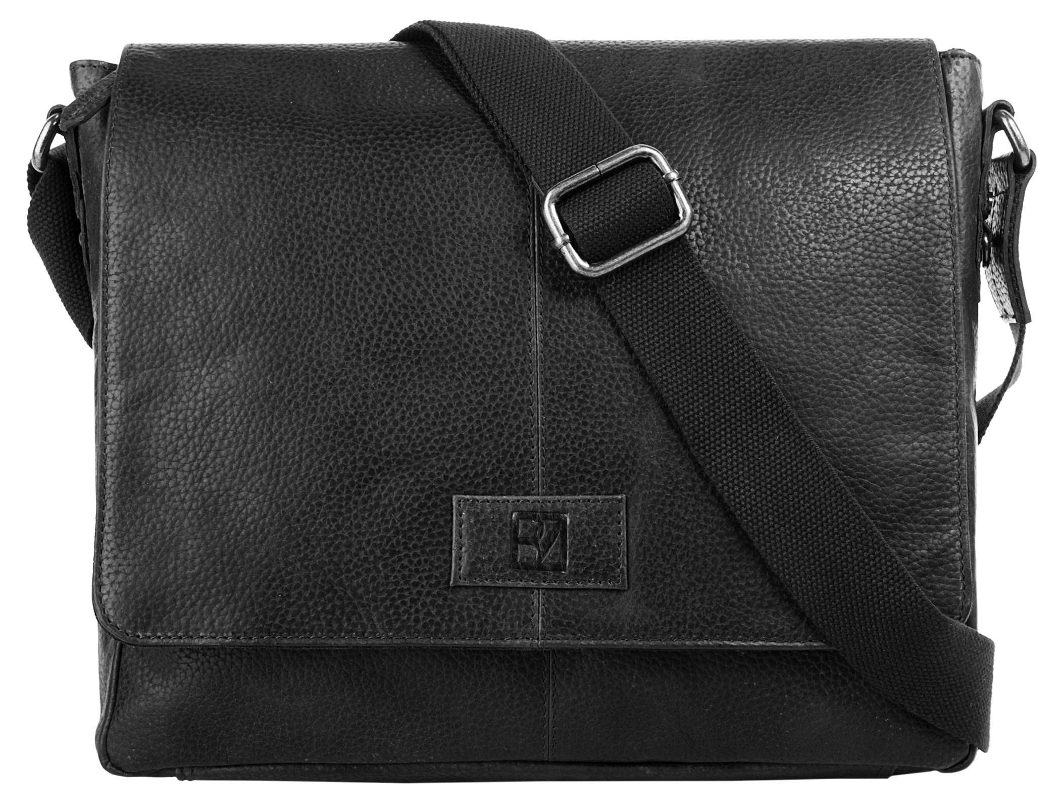 BODENSCHATZ Messenger Bag SIERRA   Taschen > Business Taschen > Messenger Bags   Schwarz   Bodenschatz