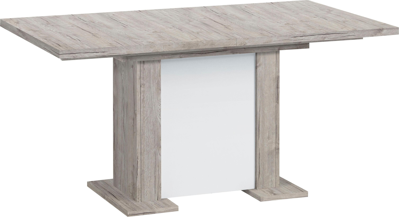 FMD Esstisch, Breite 160 cm beige Esstisch Esstische rechteckig Tische