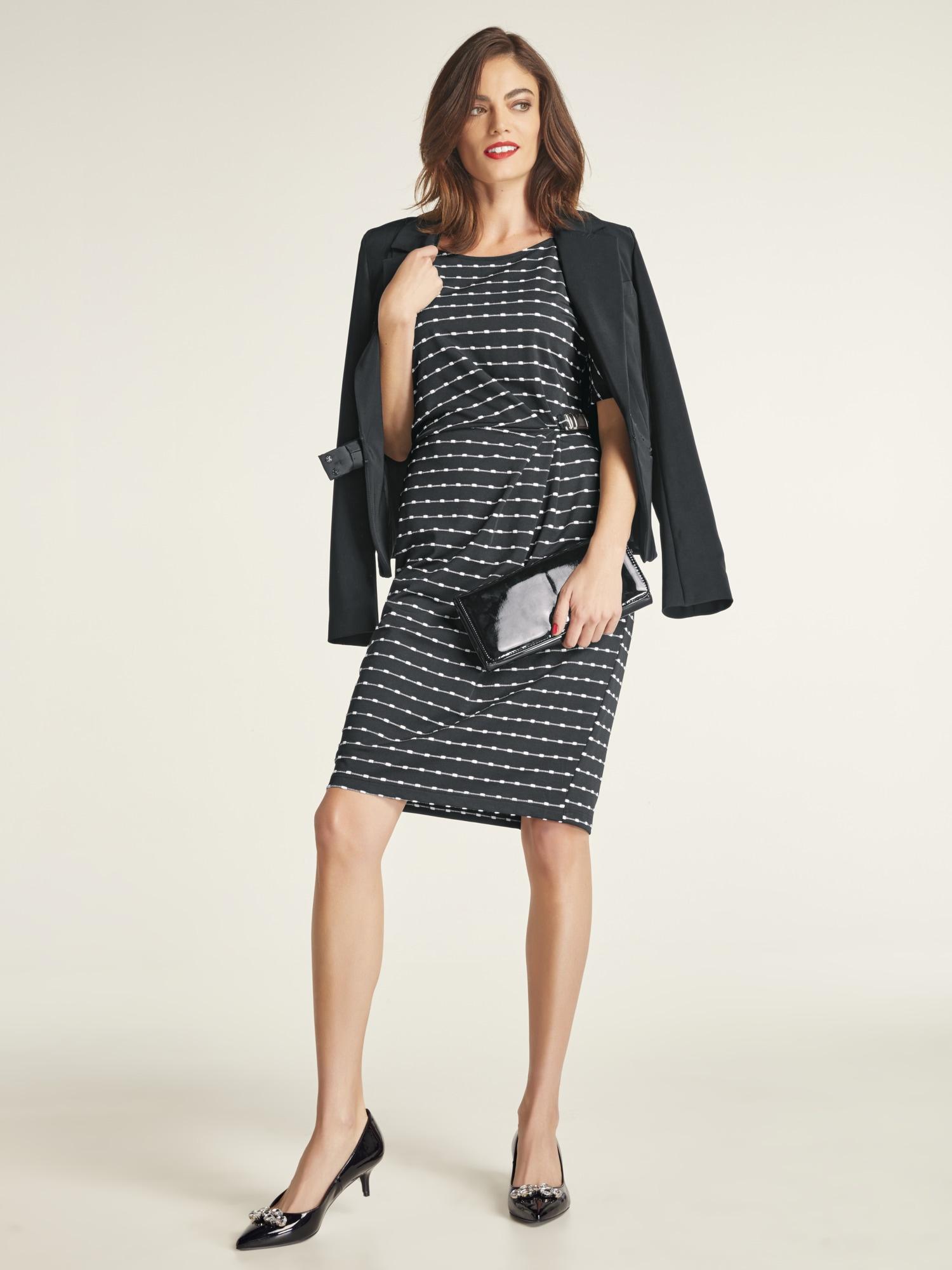heine TIMELESS Jerseykleid kurzarm