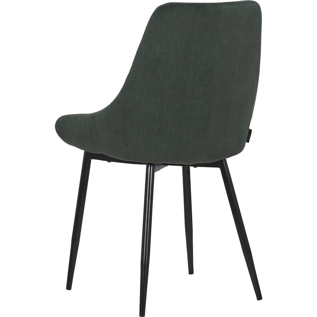 INOSIGN Esszimmerstuhl »Lennox«, 2er-Set, Sitz und Rücken gepolstert, in 3 verschiedenen Farben