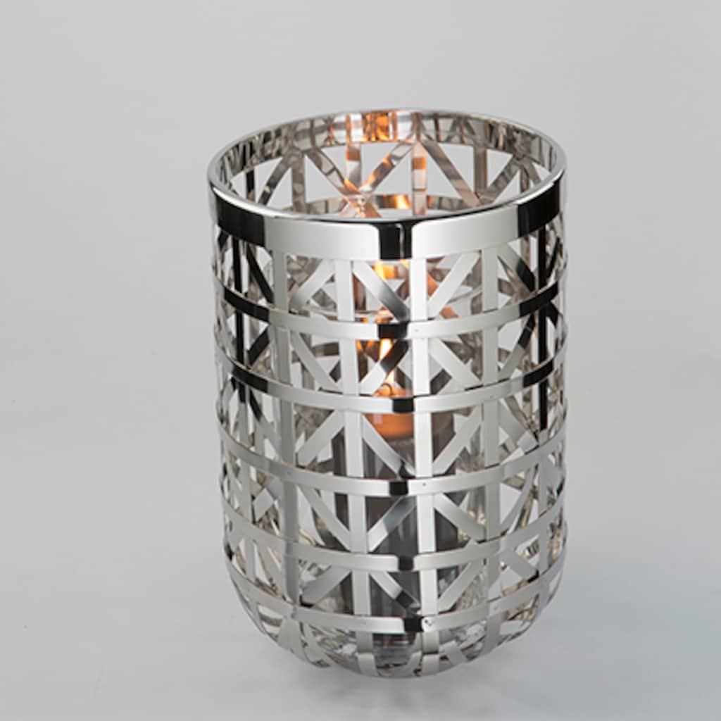 Fink Windlicht »JORIS«, aus Edelstahl