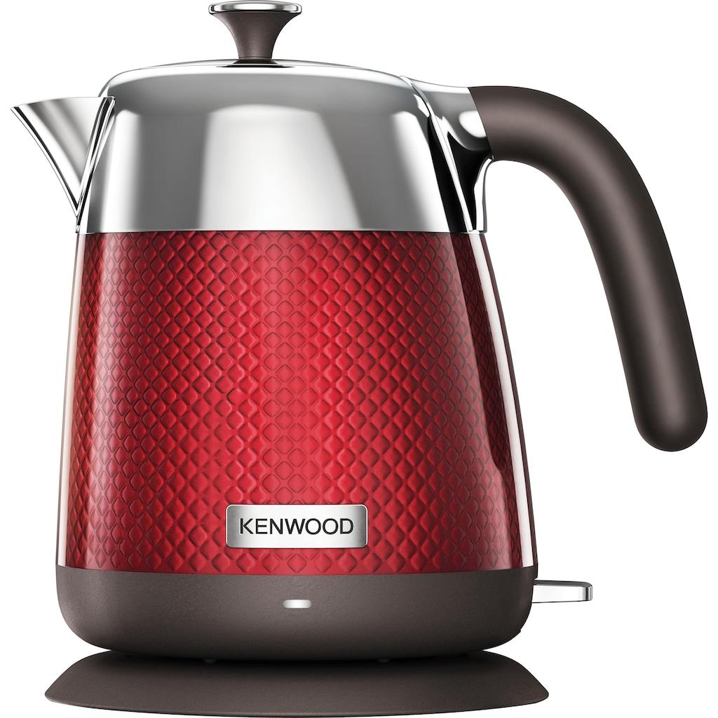 KENWOOD Wasserkocher »Mesmerine ZJM810.RD«, 1,6 l, 2200 W