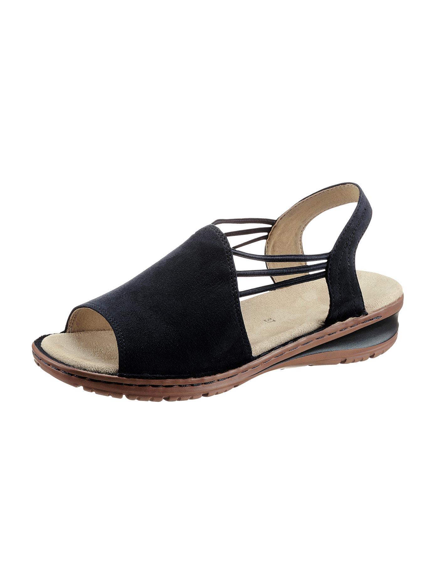 Ara Sandalette blau Damen Sandaletten Sandalen