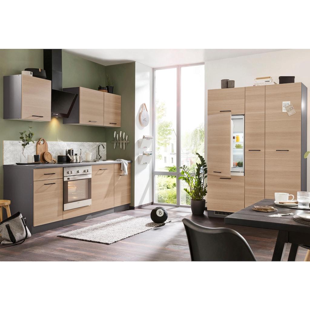 wiho Küchen Küchenzeile »Esbo«, ohne E-Geräte, Breite 310 cm