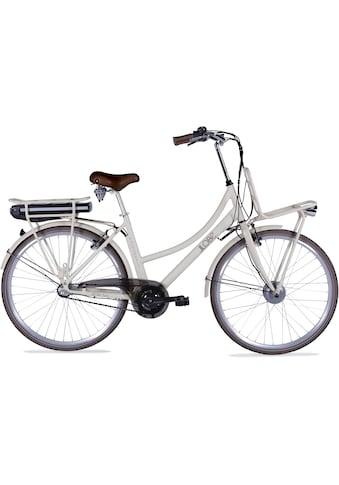LLobe E-Bike »Rosendaal Lady 15,6 Ah«, Gepäckträger vorne kaufen