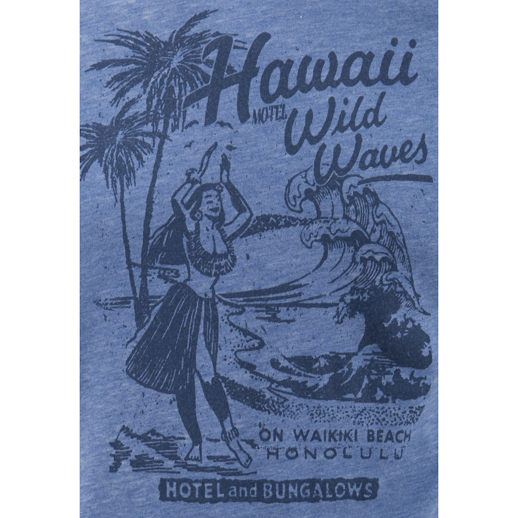Way of Glory Print-Shirt, mit Hawaii Print