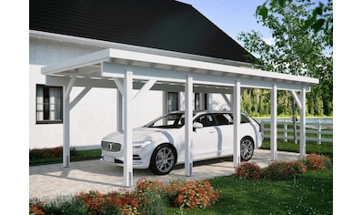 Kiehn-Holz Einzelcarport »KH 320 / KH 321«, Holz, 275 cm, weiß, Stahl-Dach, versch. Farben kaufen