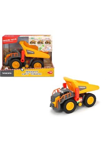 Dickie Toys Spielzeug-Kipper »Volvo Weight Lift Truck«, mit Licht und Sound kaufen