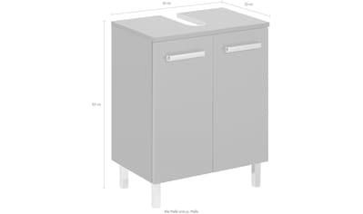 PELIPAL Waschbeckenunterschrank »Mainz« kaufen