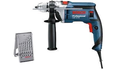 Bosch Professional Schlagbohrmaschine »GSB16 RE«, (Set), 750W, im Handwerkerkoffer mit... kaufen