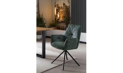 SalesFever Schalenstuhl, Esszimmerstuhl 360°Drehfunktion, Drehstuhl, Armlehnstuhl kaufen