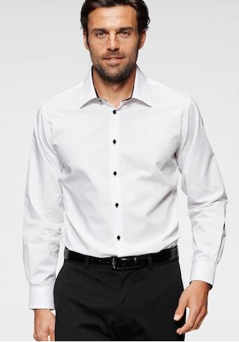 Bruno Banani Businesshemd, Kontrastbesatz kaufen