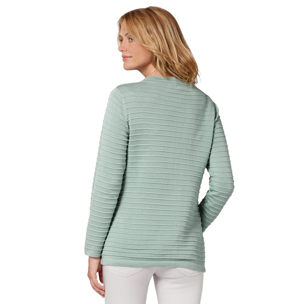Ambria Stehkragenpullover »Pullover«