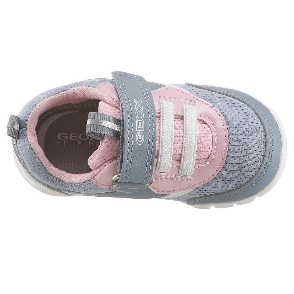 Geox Kids Sneaker »B Runner Girl«, mit Klettverschluss